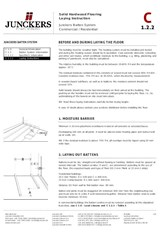 Batten system, Laying instruction C 1.2.2